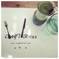 #brunching with hubby + @eatupgrade in #Comptoir102 #mydubai #greenjuice with cleansing #chlorella - #rawawesome! #eatclean