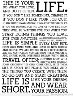 Quotes on life, life quotes image