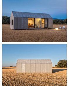 The 27sqm (290 sq ft) Portable Home ÁPH80 by #Madrid based #Spanish company ÁBATON