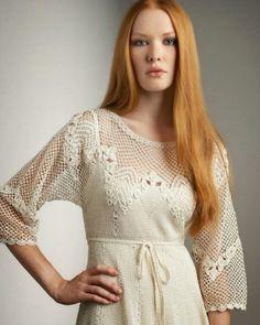 Irish crochet &: Платье. Dress.