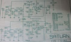 This is stereo tone control circuit electronic. Take a note that you must connect the circuit before the amplifier module. The output of tone control must be connected to the input of the ampli… Electronic Schematics, Electronic Parts, Valve Amplifier, Audio Amplifier, Dc Circuit, Circuit Diagram, Amplificador 12v, Radios, Led Projects