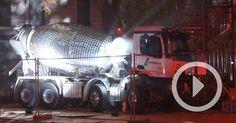 Artist Benedetto Bufalino Unveils a Disco Ball Cement Truck