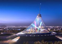 Лучшие инженерные сооружения: «Хан Шатыр» (как некоторые ошибочно считают, в пер...