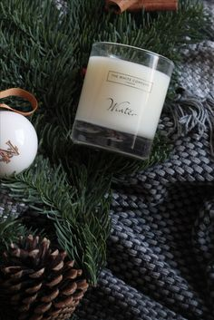 Crisp Winter Scents... . #thewhitecompany #winter #home #candle #spice #manmeetsfashion #lifestyle #london