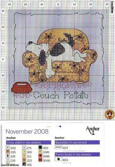 Calendar craft: counted cross stitch kits ~ Craft , handmade blog.