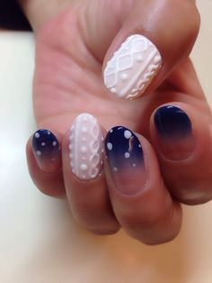 This is gorgeous nail art!