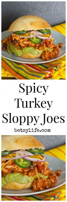 Here's your SuperBowl meal. Spicy Turkey Sloppy Joes. Easy and great for a crowd. This recipe will become a regular at dinner time from now on.