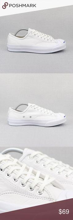 7f53e0febc6 Converse Jack Purcell Signature White Leather