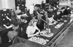 the face of women in the workforce..never to be the same after the '40s...