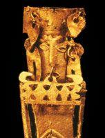 Los muiscas alcanzaron una gran perfección en la orfebrería; los objetos de oro destinados al culto y a la ornamentación dan testimonio de su avanzada técnica.