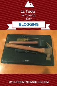 A blogger needs tools and a laptop.