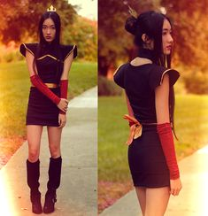 AZULA (by Jennifer W) - Enter your Halloween costume at: http://lookbook.nu/spookbook2012
