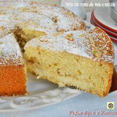Torta con crema alle mele e nocciole  Blog Profumi Sapori & Fantasia