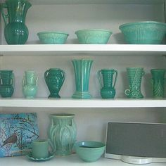 Pottery is all ready & waiting for shelves. Hope it looks as good as this!