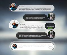 Messaging Chat App UI