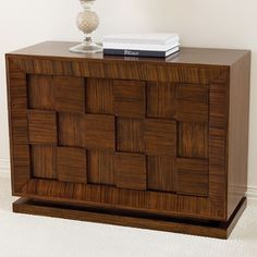 Double Block Console Table