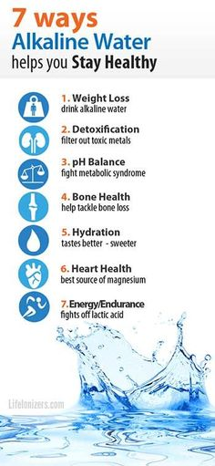 Whether you need to lose weight, detoxify, or tackle other health challenges, alkaline water can help. Here are seven proven health benefits