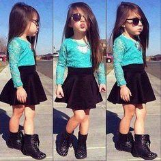 #Falda & #BLusa :) BEC ♥