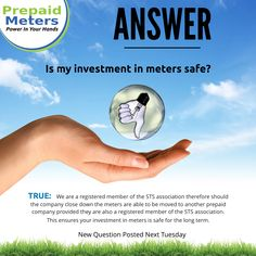 Answer 6: Is my investment in meters safe?