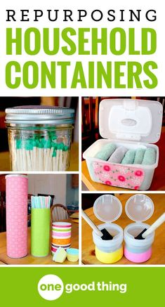 Never Throw Out These 9 Highly Useful Containers Before you toss your used containers, check out these clever ideas on how to repurpose everyday items to help organize your home. Upcycled Crafts, Repurposed Items, Diy Crafts, Reuse Plastic Containers, Recycling Containers, Reuse Pill Bottles, Plastic Container Crafts, Plastic Jugs, Crystal Light Containers