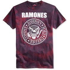New World Men's Ramones Print T-Shirt (€12) ❤ liked on Polyvore featuring men's fashion, men's clothing, men's shirts, men's t-shirts, burgundy wash, mens leopard print t shirt, mens print shirts, mens t shirts, mens burgundy shirt and mens patterned shirts