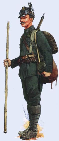 Austro-Hungarian Army WW1, jager, pin by Paolo Marzioli