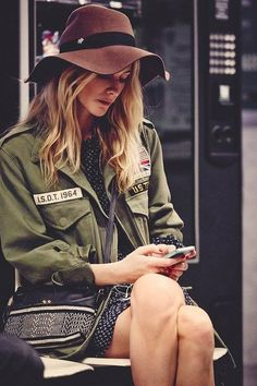 military is effortless and always cool....
