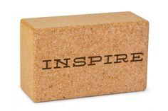 Personalized Cork Yoga Block - The best eco yoga blocks