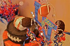 sports theme birthday