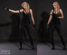 Lara Croft / Sarah Connor Style STOCK by PhelanDavion.deviantart.com on @DeviantArt