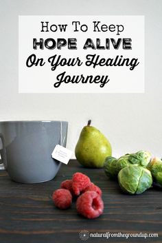 Keep hope alive on your healing journey pin
