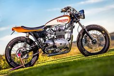 '07 Triumph Thruxton Tracker – Mule Motorcycles