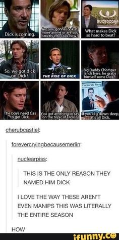 You're watching Supernatural. This was the entire effing season 7...