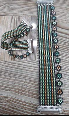 Haile Pin on Bracelets t Mostacilla Bracelets and Loom - Braccialetti DIY . - Haile Pin on Bracelets t Mostacilla Bracelets and Loom – Braccialetti DIY – Bead loom bracelets - Handmade Jewelry Tutorials, Beaded Jewelry Designs, Handmade Beaded Jewelry, Bead Jewellery, Jewelry Patterns, Loom Bracelet Patterns, Bead Loom Bracelets, Bead Loom Patterns, Beading Patterns