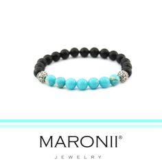 Maronii náramek z přírodních kamenů a komponentů ze stříbra 925/sterling silver  www.maronii.cz   #bracelet #maronii #naturalstone #modernstyl #silver #beads #jewelry