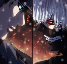 Tokyo Ghoul 132: Amon and Kaneki by AR-UA.deviantart.com on @DeviantArt