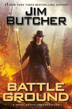 Dresden Files. Harry has faced terrible odds before. The Red Court of Vampires. The fallen angels of the Order of Blackened Denarius. The Outsiders. But this time, it's different. A being more powerful and dangerous on an order of magnitude beyond what the world has seen in a millennia is coming. And she's bringing an army. The Last Titan has declared war on the city of Chicago, and has come to subjugate humanity. Harry's mission is simple but impossible: Save the city by killing a Titan. Mystery Genre, Dresden Files, Ace Books, Book Cafe, Battle Ground, Buffy The Vampire Slayer, Book Authors, Fiction Books, New York Times