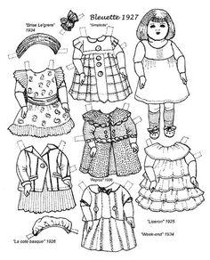 Paper Dolls Free Printable Download Dolls Filing and Printing