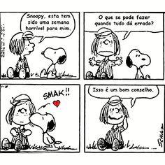 """8,957 curtidas, 100 comentários - QuadrinhosGram (@quadrinhosgram) no Instagram: """"#snoopy #peanuts #charlesschulz #quadrinhos #tirinhas #quadrinhosgram #diadoamigo"""""""