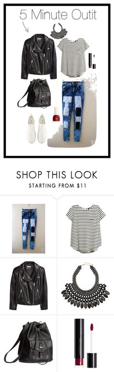5 Minute Outfit - Casual - H&M by boglarka-pinkeova on Polyvore featuring H&M