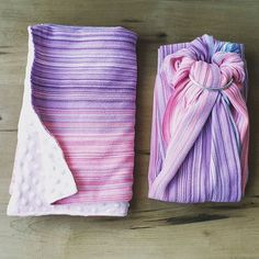 Wrap conversion ring sling with hand buffed silver rings made from an Erizo Bubblegum Kisses wrap. The scrap was backed with a delicious pink minky to create a cosy baby blanket. Ring Sling, Bubble Gum, Kisses, Cosy, Scrap, Silver Rings, Blanket, Create, Pink