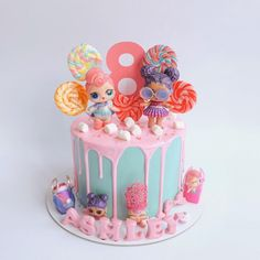 Hello monday ! Another LOL surprise dolls cake