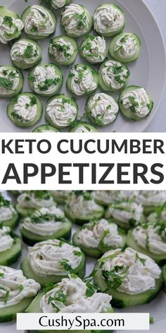 If you are looking for the best ketogenic recipes for your keto diet you will love these tasty keto cucumber slice appetizers with garlic cheese. You can make these yummy keto snacks to share with friends! #Ketogenic #Appetizer Cucumber Appetizers, Cucumber Bites, Great Appetizers, High Protein Snacks, Keto Snacks, Snack Recipes, Ketogenic Recipes, Low Carb Recipes, Garlic Cheese
