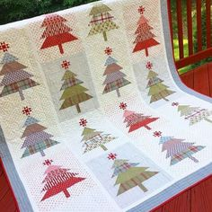 Christmas tree quilt wendy Sheppard
