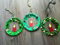 Kerzen-Kränze. Gefunden auf Facebook :)