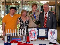Image detail for -As his mother, Debbie Voss, looked on, Steve Voss was awarded the rank of Eagle by Troop 633 Scoutmaster Kent Johnson during a ceremony held at the Rancho Murieta . Eagle Scout Ceremony, Ceremony Decorations, Boy Scouts, Celebrities, Boys, Eagles, Centerpieces, Scouting, Party Invitations