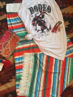 Buck yes!! Serape never goes out of style! www.the-cactus-flower.com