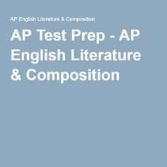 ap literature essay rubric college board