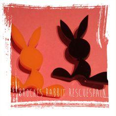 Exclusivo broche Rabbit Rescue Spain en naranja o negro ¿quieres conseguir uno?......https://www.facebook.com/events/461802030587400/