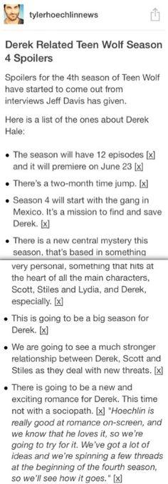Teen Wolf | Season 4 | Spoilers